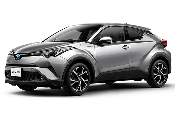 TOYOTA CHR HYBRID G Side View