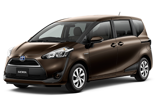 TOYOTA SIENTA 1.5 G Front View Brown