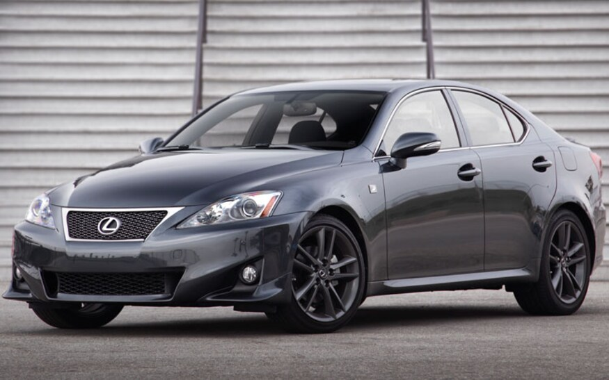 2011 lexus IS 250 F sport
